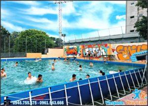kinh doanh bể bơi thông minh 2020