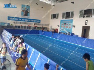Bể bơi di động khung kim loại tại Tp Hải Phòng