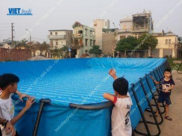 Bể bơi lắp ghép thông minh tại Thái Nguyên