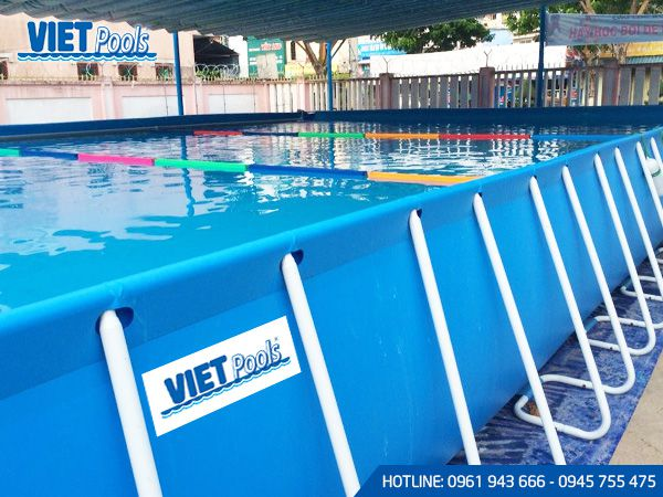 Bể bơi khung kim loại di động BK 05