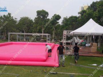 Bể bơi bơm hơi Khu đô thị Ecopak – Hưng Yên