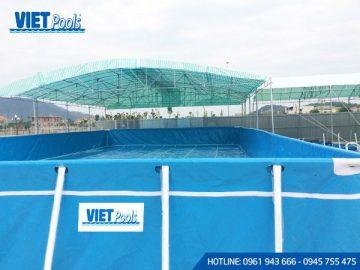 Bể bơi di động ngoài trời  BD 02