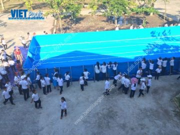 Bể bơi lắp ghép tại Trường TH Tiên Hưng- Tiên Lãng – Hải Phòng