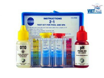 Bộ kiểm tra hóa chất bể bơi