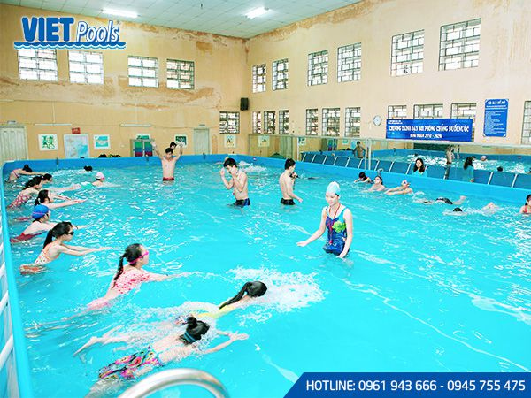 Bể bơi di động VIETPOOLS