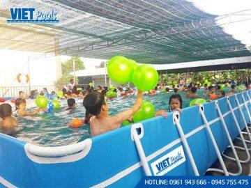 Sản xuất bể bơi thông minh ngoài trời  BM 05