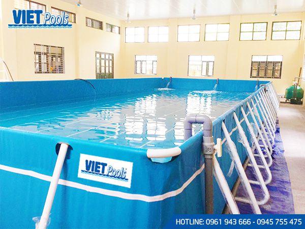 Sản xuất bể bơi thông minh toàn quốc BT 04