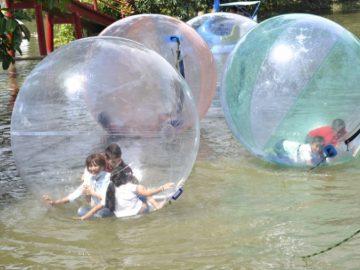 Bong bóng đi bộ dưới nước