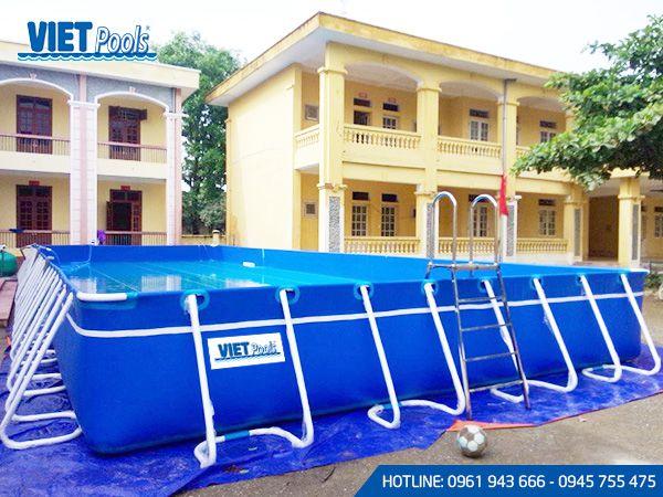 Cho thuê bể bơi di động