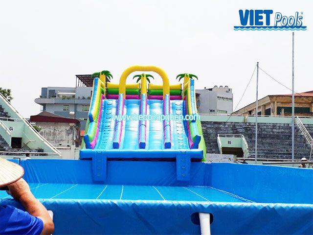 bể bơi trẻ em vietpools tại tttdtt lạng sơn 3