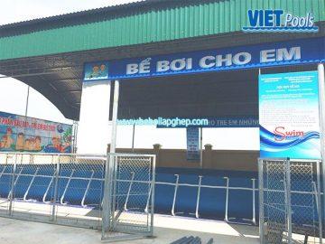 Bể bơi di động VIETPOOLS tại Đông Triều – Quảng Ninh
