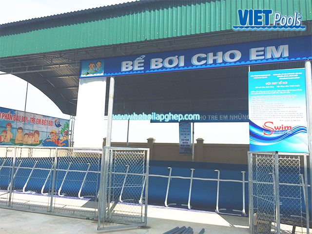 Bể bơi di động Vietpools đông triều quảng ninh 1