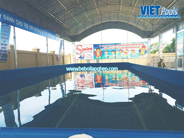Bể bơi di động Vietpools đông triều quảng ninh 2