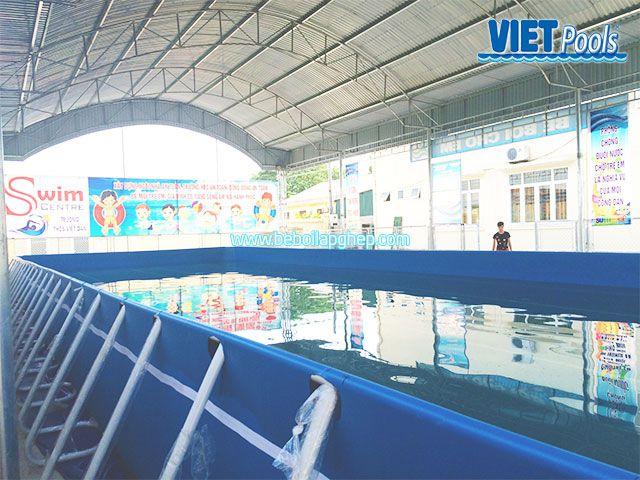 Bể bơi di động Vietpools đông triều quảng ninh 3