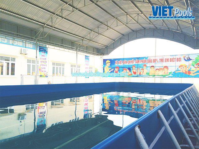 Bể bơi di động Vietpools đông triều quảng ninh 4