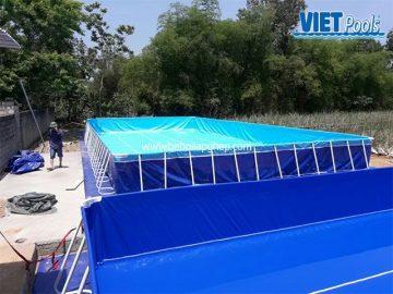 Bể bơi di động VIETPOOLS tại Quỳnh Hợp – Nghệ An