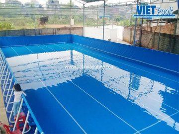 Bể bơi di động VIETPOOLS tại Thái Nguyên