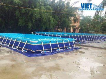 Bể bơi lắp ghép VIETPOOLS tại Chí Linh – Hải Dương