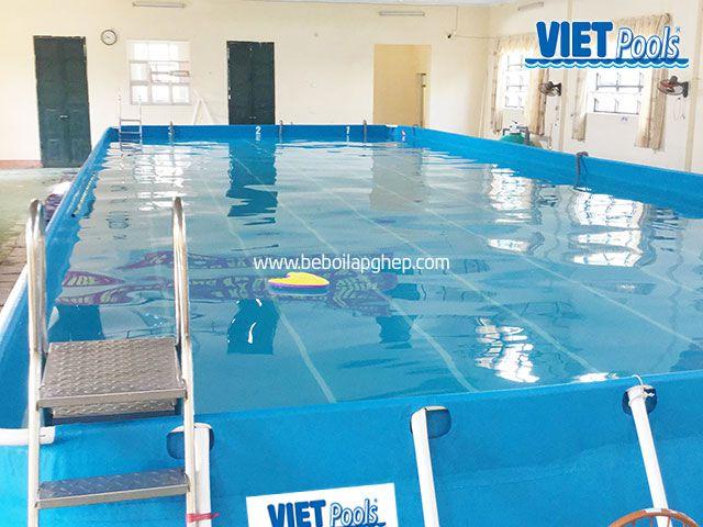 Bể bơi thông minh VIETPOOLS tại Hưng Yên 1
