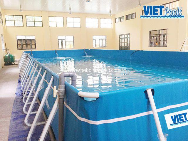 Bể bơi thông minh VIETPOOLS tại Hưng Yên 2