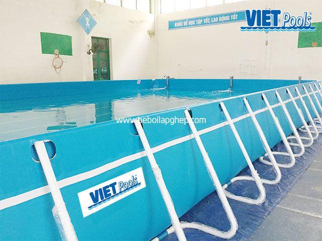 Bể bơi thông minh VIETPOOLS tại Hưng Yên 3