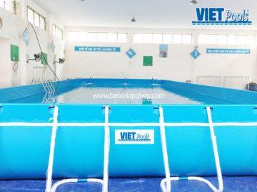 Bể bơi thông minh VIETPOOLS lắp ghép tại Hưng Yên