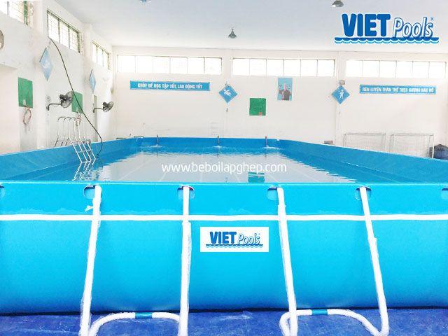 Bể bơi thông minh VIETPOOLS tại Hưng Yên 4