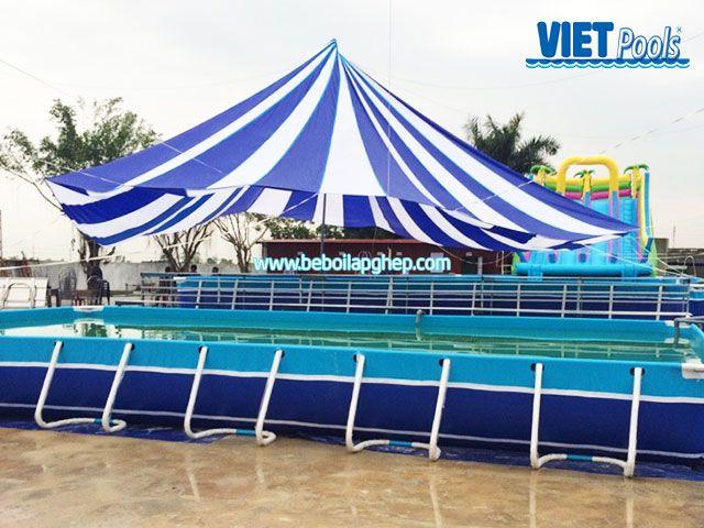 Bể bơi thông minh VIETPOOLS Phú Xuyên Hà Nội 1