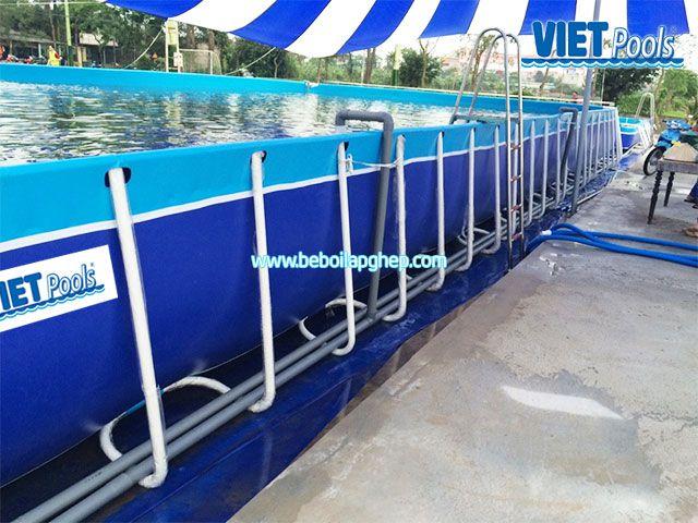 Bể bơi thông minh VIETPOOLS Phú Xuyên Hà Nội 2