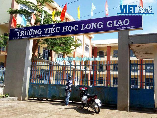 Bể bơi trẻ em VIETPOOLS tại Long Giao Đồng Nai 1