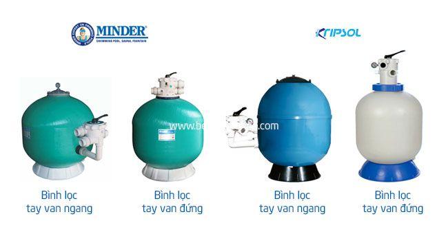 một số loại máy lọc nước bể bơi