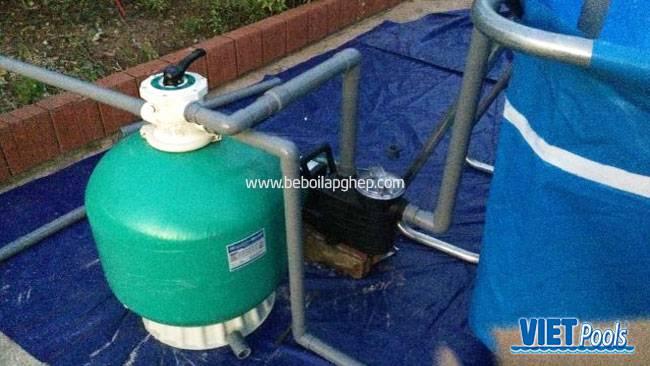 Hệ thống lọc bơm thoát nước
