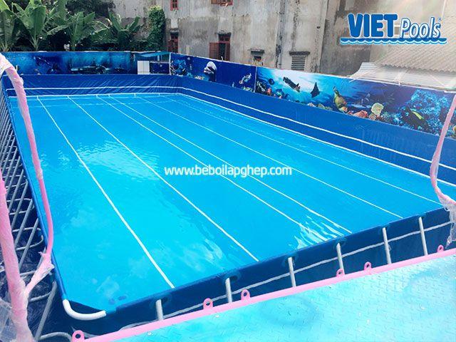Hồ bơi di động VIETPOOLS tại khu vui chơi trẻ em 2