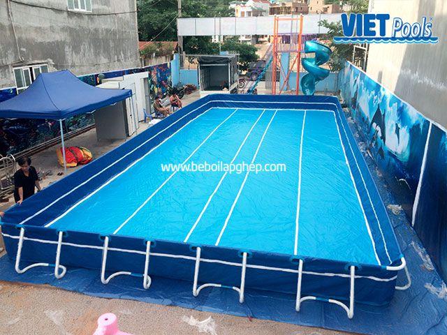 Hồ bơi di động VIETPOOLS tại khu vui chơi trẻ em 3