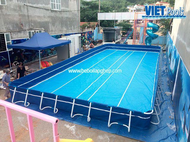 Hồ bơi di động VIETPOOLS tại khu vui chơi trẻ em 4
