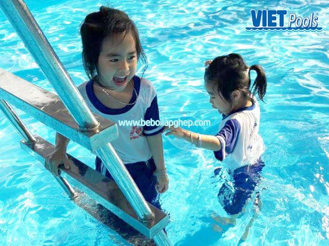 Bể bơi trường học thông minh VIETPOOLS tại Bình Thuận 1