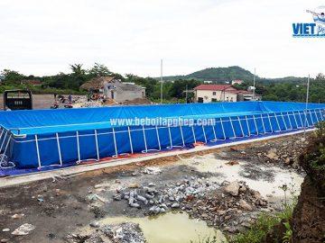 Bể bơi di động lớn nhất miền Trung VIETPOOLS
