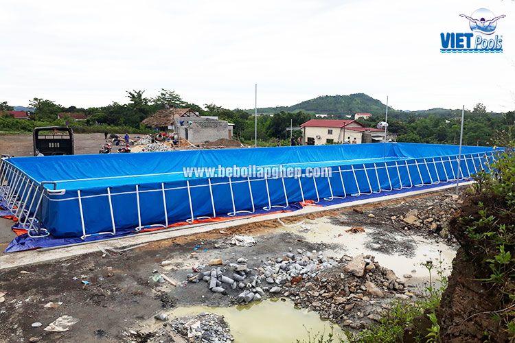 Bể bơi di động lớn nhất miền Trung VIETPOOLS 1
