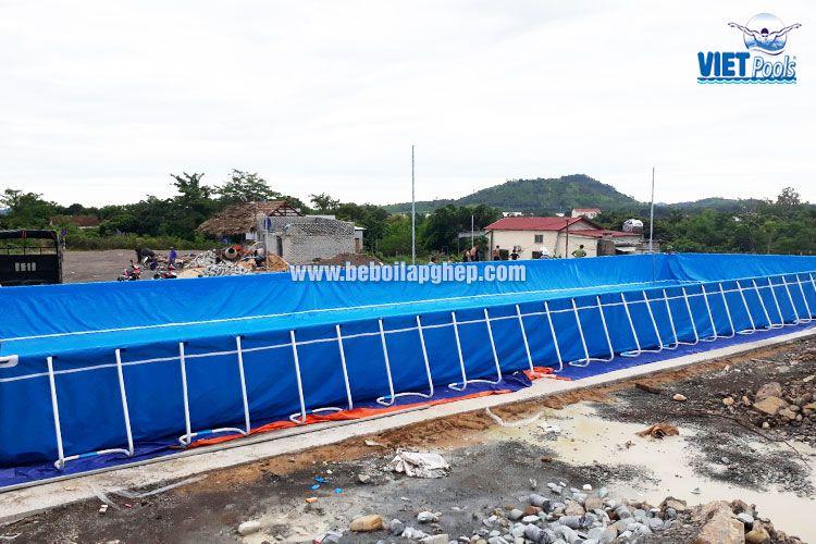 Bể bơi di động lớn nhất miền Trung VIETPOOLS 2