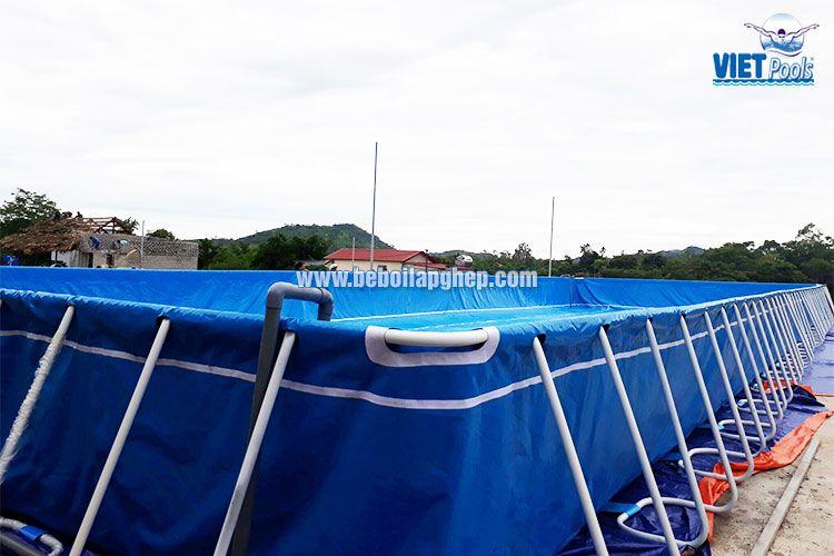 Bể bơi di động lớn nhất miền Trung VIETPOOLS 3