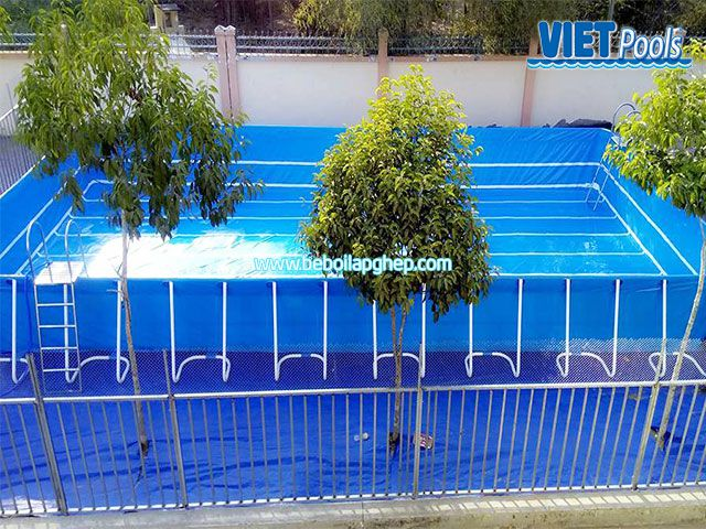 Bể bơi lắp ghép VIETPOOLS tại TPHCM 2