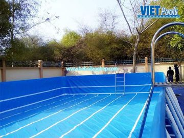 Bể bơi lắp ghép VIETPOOLS tại TPHCM