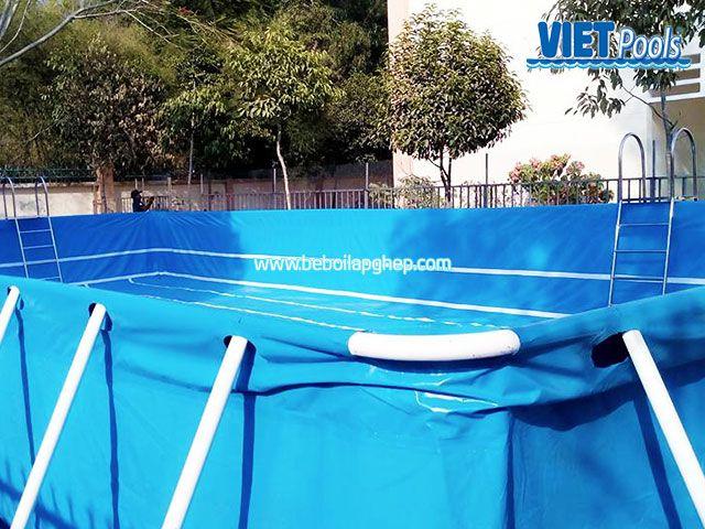 Bể bơi lắp ghép VIETPOOLS tại TPHCM 4