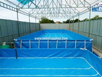 Mô hình bể bơi thông minh VIETPOOLS tại Quảng Ngãi