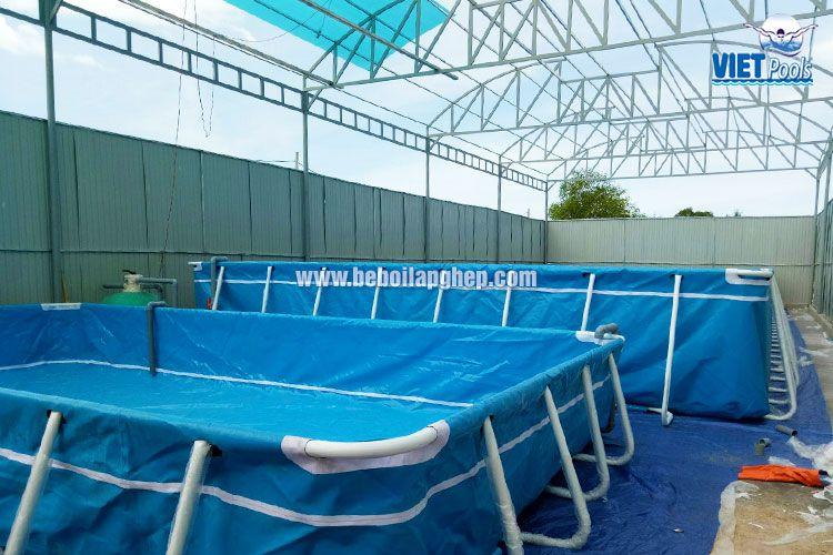 bể bơi thông minh vietpools tại pho linh 4