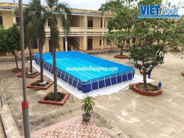 Bể bơi trẻ em VIETPOOLS tại Tiểu học Gia Lập – Gia Viễn