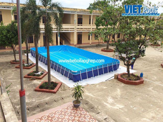 Bể bơi trường học VIETPOOLS tại Tiểu học Gia Lập - Gia Viễn 5