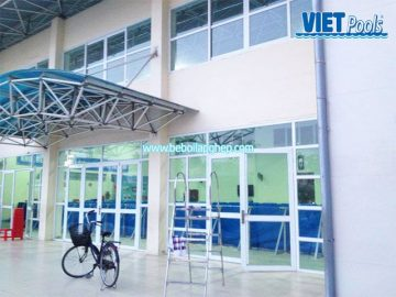 Bể bơi VIETPOOLS tại Trường tiểu học Lê Lợi – Hà Đông