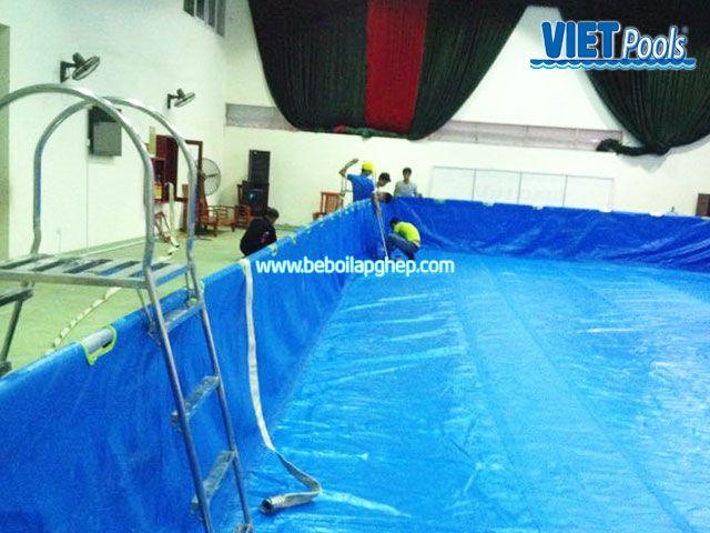 Bể bơi VIETPOOLS tại Tiểu học Lê Lợi Bể bơi VIETPOOLS tại Trường tiểu học Lê Lợi 2