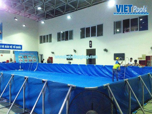 Bể bơi VIETPOOLS tại Tiểu học Lê Lợi Bể bơi VIETPOOLS tại Trường tiểu học Lê Lợi 4